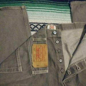Levi's 501 Original Button Fly Size 44x34 Jeans!